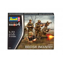 1:72 FIGURES BRITISH INFANTRY