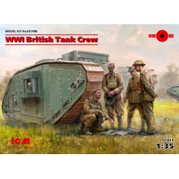 1:35 WWI British Tank Crew...