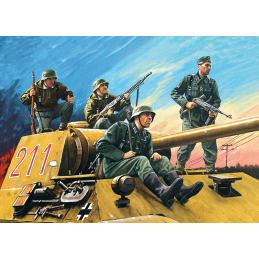 1:35 German Tank Riders...