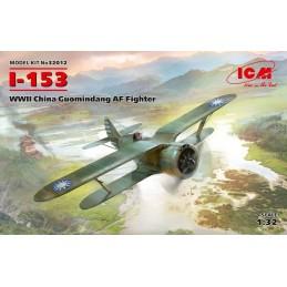 1:32 I-153, WWII China...