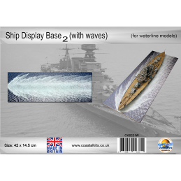 Ship Display Base 2 with waves