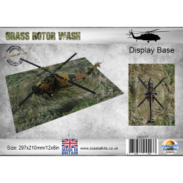 Grass Rotor Wash Display Base