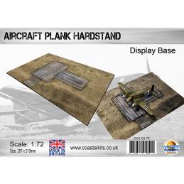 1:72 Aircraft Plank Hardstand