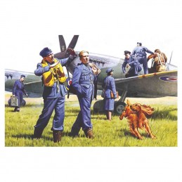 1:48 RAF Pilots and Ground...