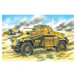 1:72 Sd.Kfz.222, German...