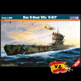 """1:400 Das U-Boot VIIC  """"U-617"""""""