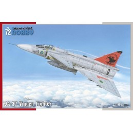 1:72 JA-37 Viggen Fighter