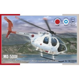 1:72 MD-500E Helicopter