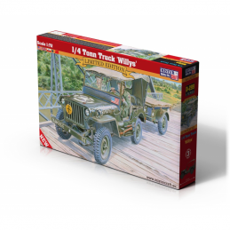 1/72 1/4 Tonn Truck Willys