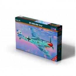"1:72 BF-109G-5R6""Roten Jager"""
