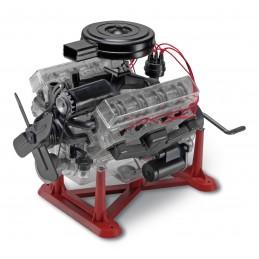 Visible V-8 Engine