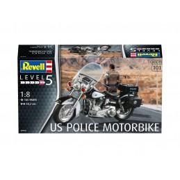 1:8 US POLICE MOTORBIKE