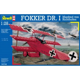 """1:28 Fokker Dr.I """"Richthofen"""""""