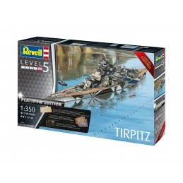 1:350 Battleship Tirpitz...