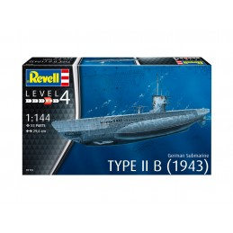 1:144 German Submarine Type...