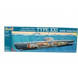 U-Boat XXI Type w. Interieur