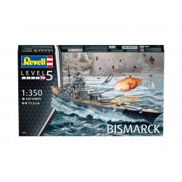 1:350 Battleship Bismarck
