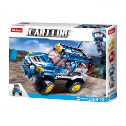 CAR CLUB-OFFROAD - Blue