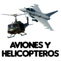 AVIONES Y HELICOPTEROS